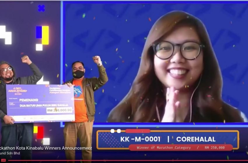 COREHALAL – JUARA MARATHON (MYHACKATHON 2020) MENERIMA 250K !